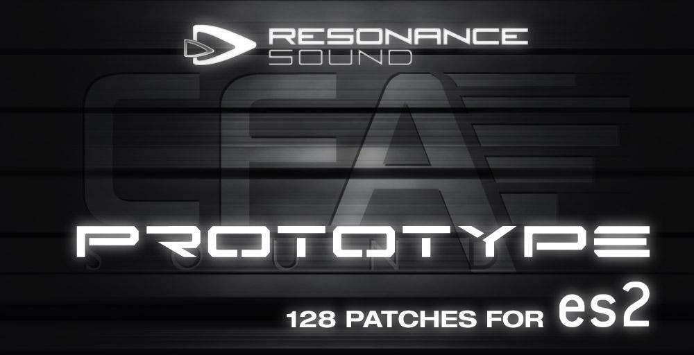 Resonance Sound CFA Prototype - ES2 - Soft Synth Presets