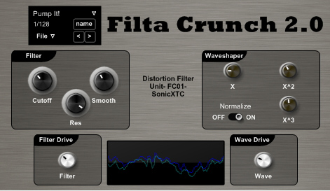 Filta Crunch 2 VST plugin gratuit