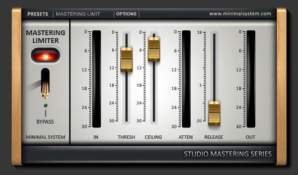 XStudioToolz Mastering Limiter - Limiter