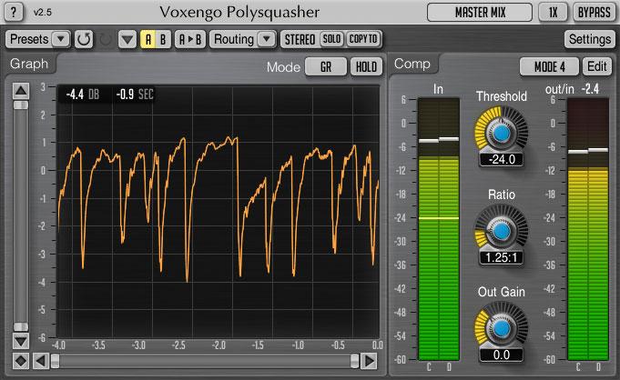 Voxengo Voxengo Polysquasher - Compressor
