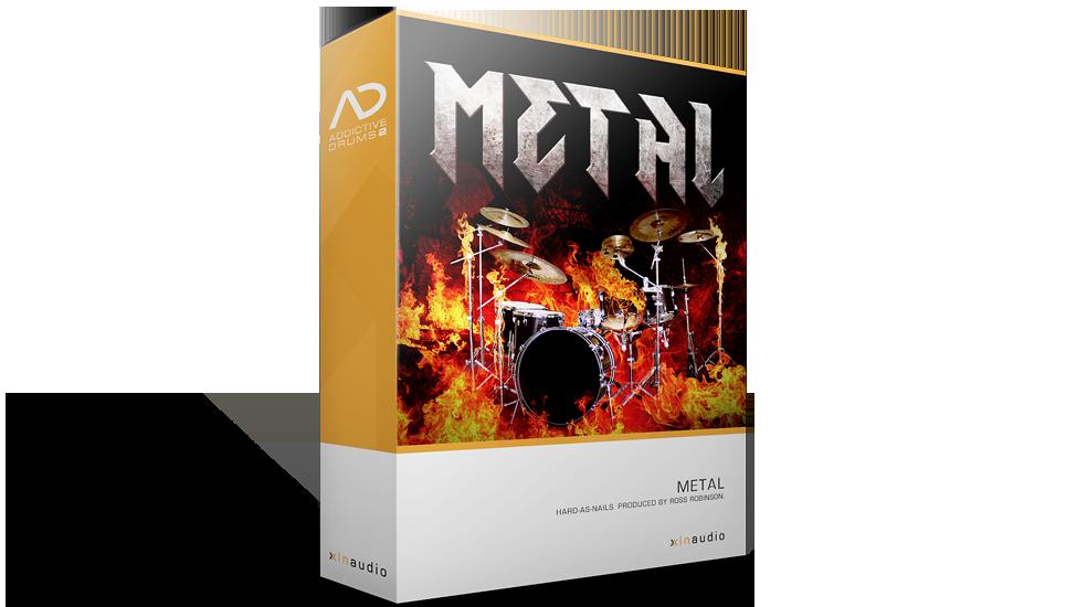XLN Audio Metal ADpak - Expansion Packs