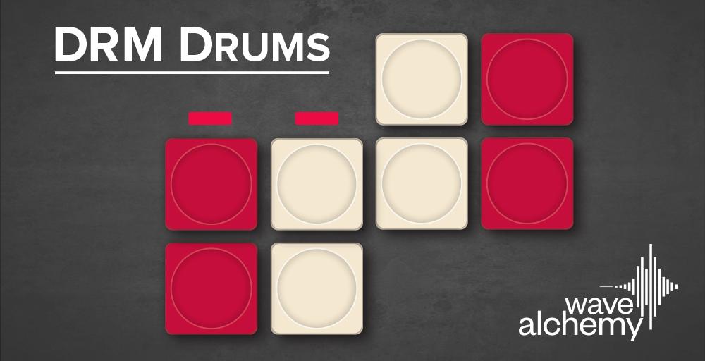 Wave Alchemy DRM Drums - Sample Packs