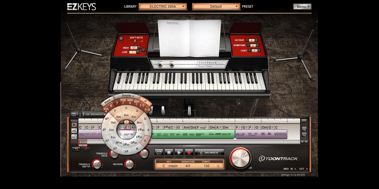 Toontrack EZkeys Classic Electrics - Virtual Instrument