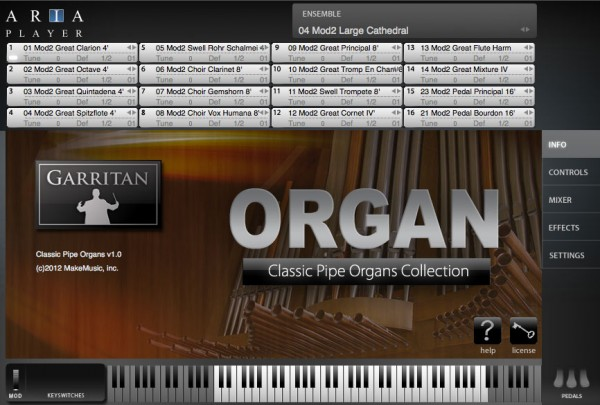 Garritan Classic Pipe Organs - Virtual Instrument