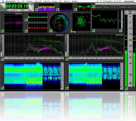 Metric Halo SpectraFoo Standard - Metering