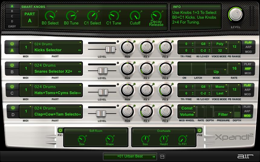 AIR Music Xpand!2: un workstation muy capaz por 1€