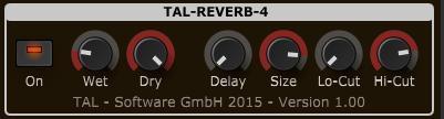TAL Tal-Reverb-4 - Reverb