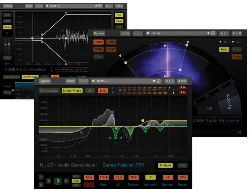 NUGEN Audio Stereo Pack - FX Bundle