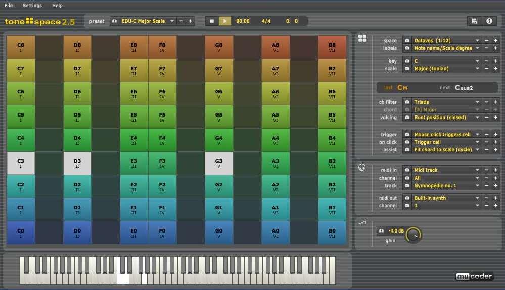 Mucoder Tonespace - Utility