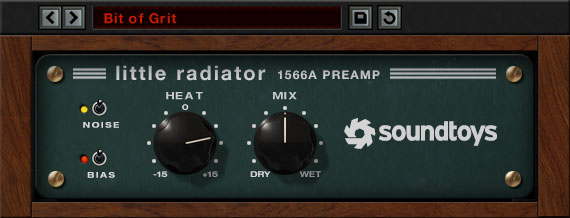 Soundtoys Little Radiator - Saturation