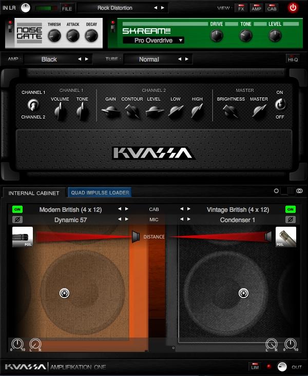 Kuassa Amplifikation One - Amp Simulator