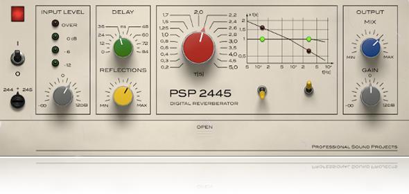 PSP Audioware PSP 2445 EMT - Reverb