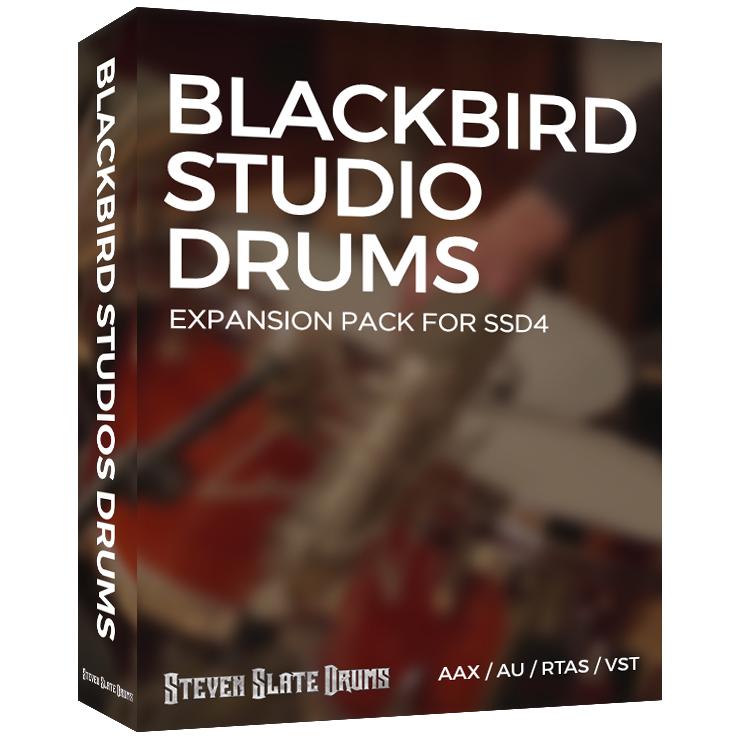 Slate Digital Blackbird Studio Drums for SSD4 - Expansion Packs