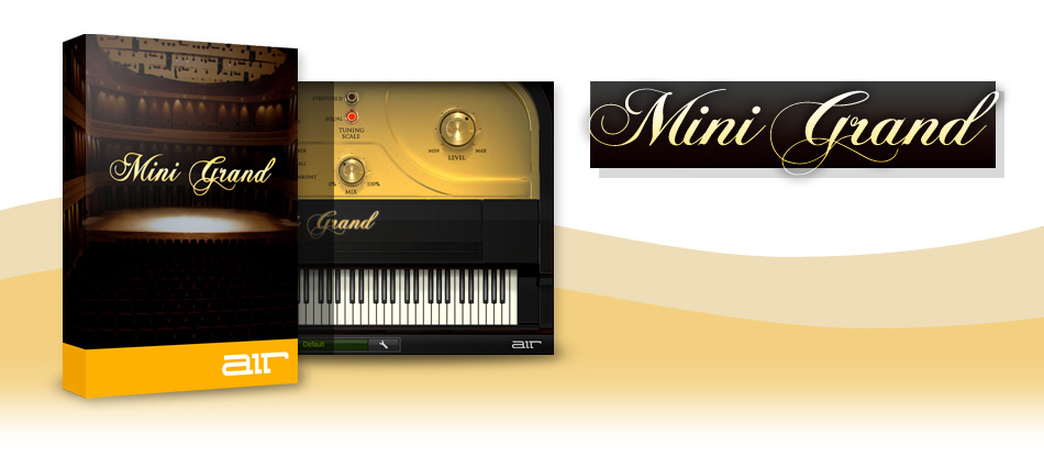 AIR Music Technology Mini Grand + Crossgrade - Virtual Instrument