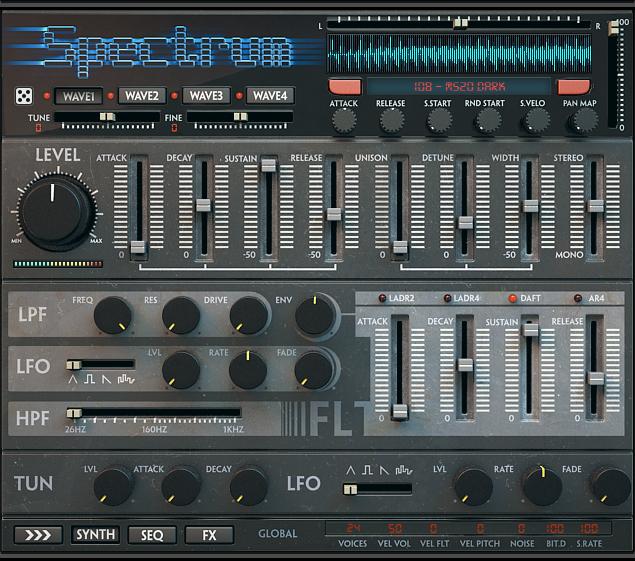 Wave Alchemy Spectrum - Kontakt Instrument