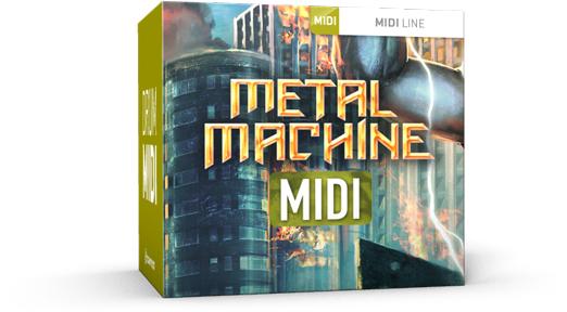Toontrack Metal Machine MIDI - Expansion Packs