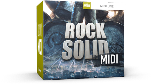 Toontrack Rock Solid MIDI - Expansion Packs