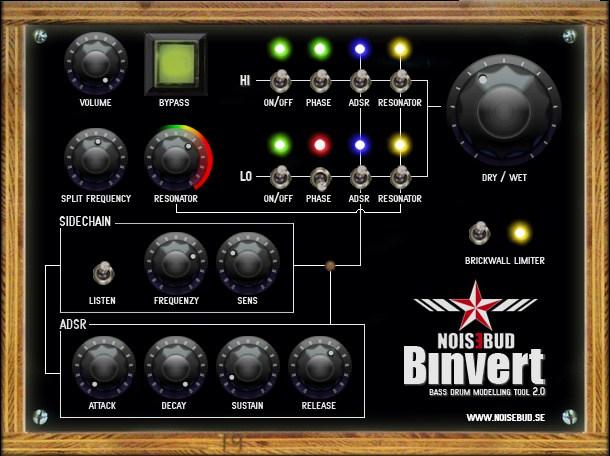 Noisebud Binvert - Utility