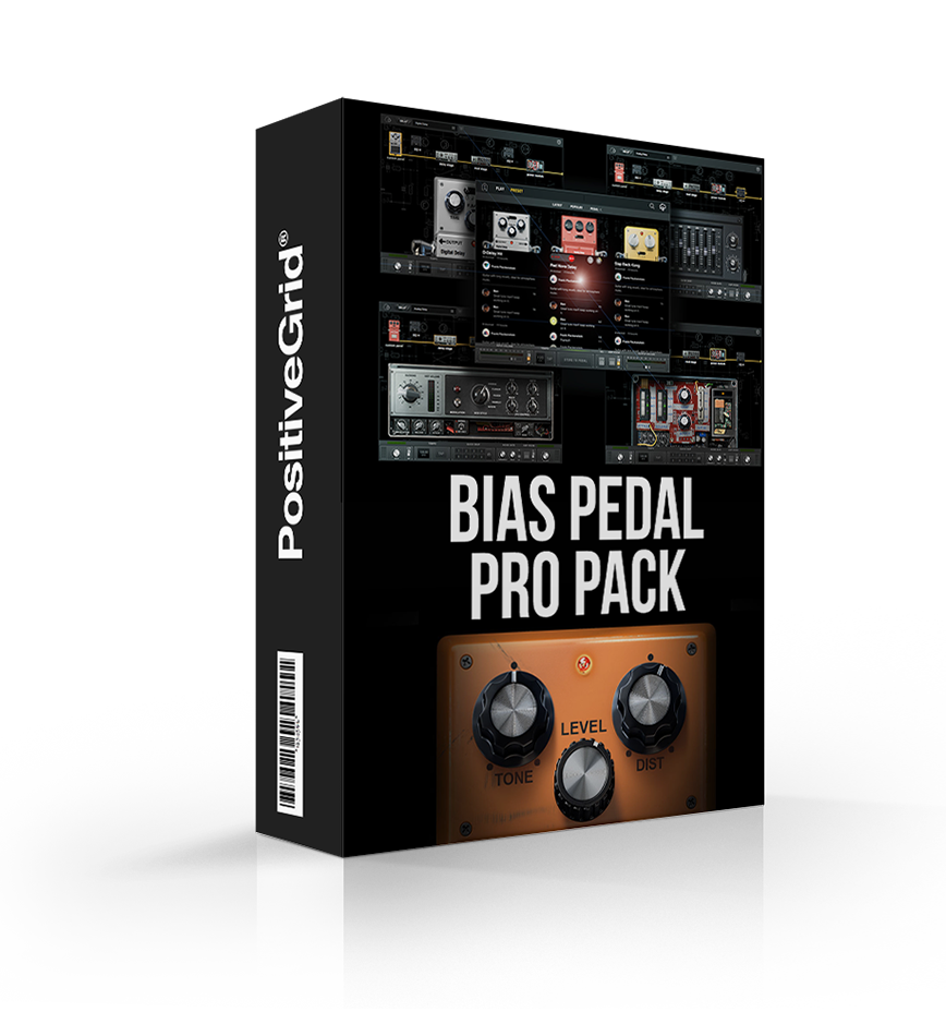 Positive Grid BIAS Pedal Pro Pack - FX Bundle