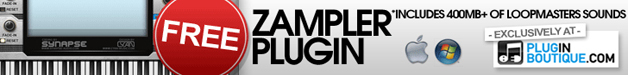 Free Zampler plugin from Plugin Boutique