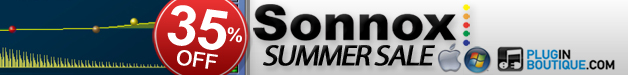 Sonnox 35% off summer sale now on Plugin Boutique