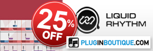 Liquid Rhythm All Versions 25% off at Plugin Boutique