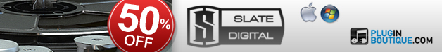 50% off Slate Digital software at Plugin Boutique