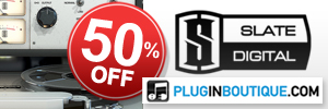 Slate Digital 50% off at Plugin Boutique