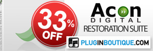 Acon Digital Restoration Suite 33% off at Plugin Boutique