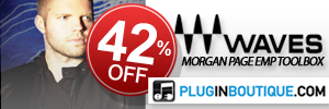 42% Off Waves Morgan Page EMP Toolbox at Plugin Boutique