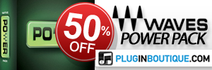 50% Off Waves Power Pack at Plugin Boutique