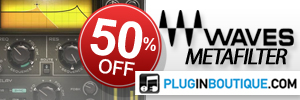 50% Off Waves MetaFilter at Plugin Boutique