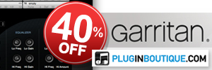 40% off Garritan at Plugin Boutique