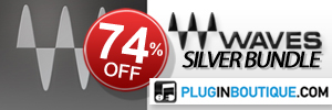 We've teamed up with Waves to offer 74% off their award winning Silver Bundle!