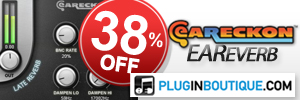 EarReckon EaReverb 38% off at Plugin Boutique