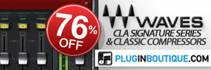 For a limited time, we're offering an exclusive 76% off both the Chris Lord-Alge Signature Series, and CLA Classic Compressors!