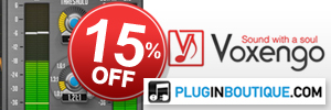This Christmas save 15% off all Voxengo plugins & bundles at Plugin Boutique