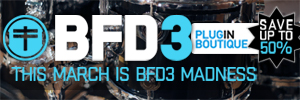 Fxpansion BFD 3 March Madness 50% Sale