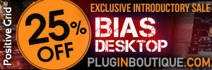 Positive Grid BIAS Desktop 25% Sale