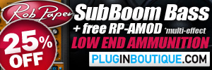 Rob Papen SubBoom Bass 25% Sale