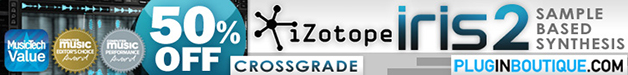 iZotope Iris 2 Crossgrade 52% off Sale