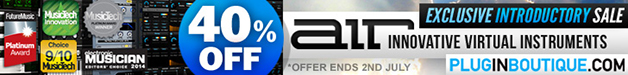AIR Music Technology Exclusive 40% off Introductory Sale