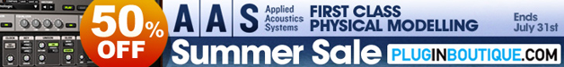 Applied Acoustics Systems 50% off Summer Sale