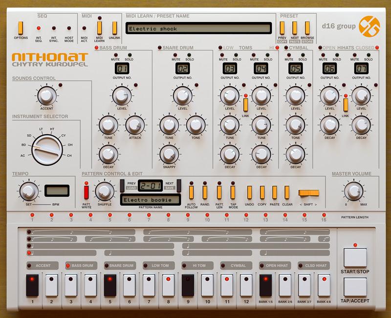 D16 Group Nithonat - Drum Machine