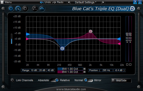 Image result for triple eq blue cat audio