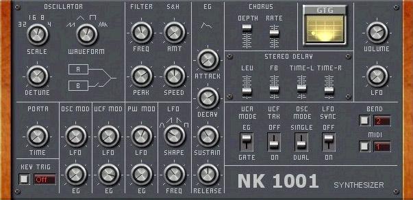 GTG Synths GTG NK 1001 - Synth