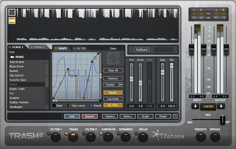 iZotope Trash2 + Expansions - Distortion
