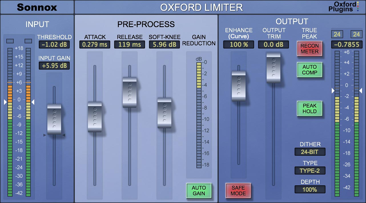Oxford Limiter V3