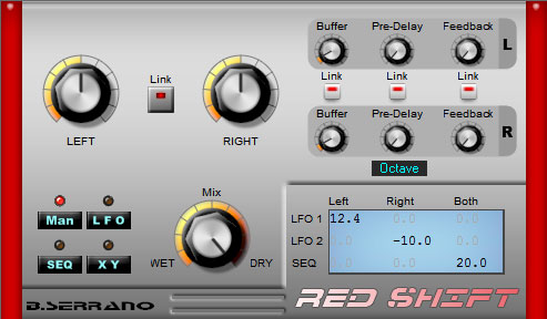 B.Serrano Red Shift 3 - Phaser