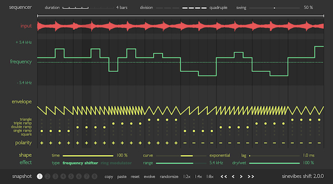Sinevibes Shift - Frequency Shifter